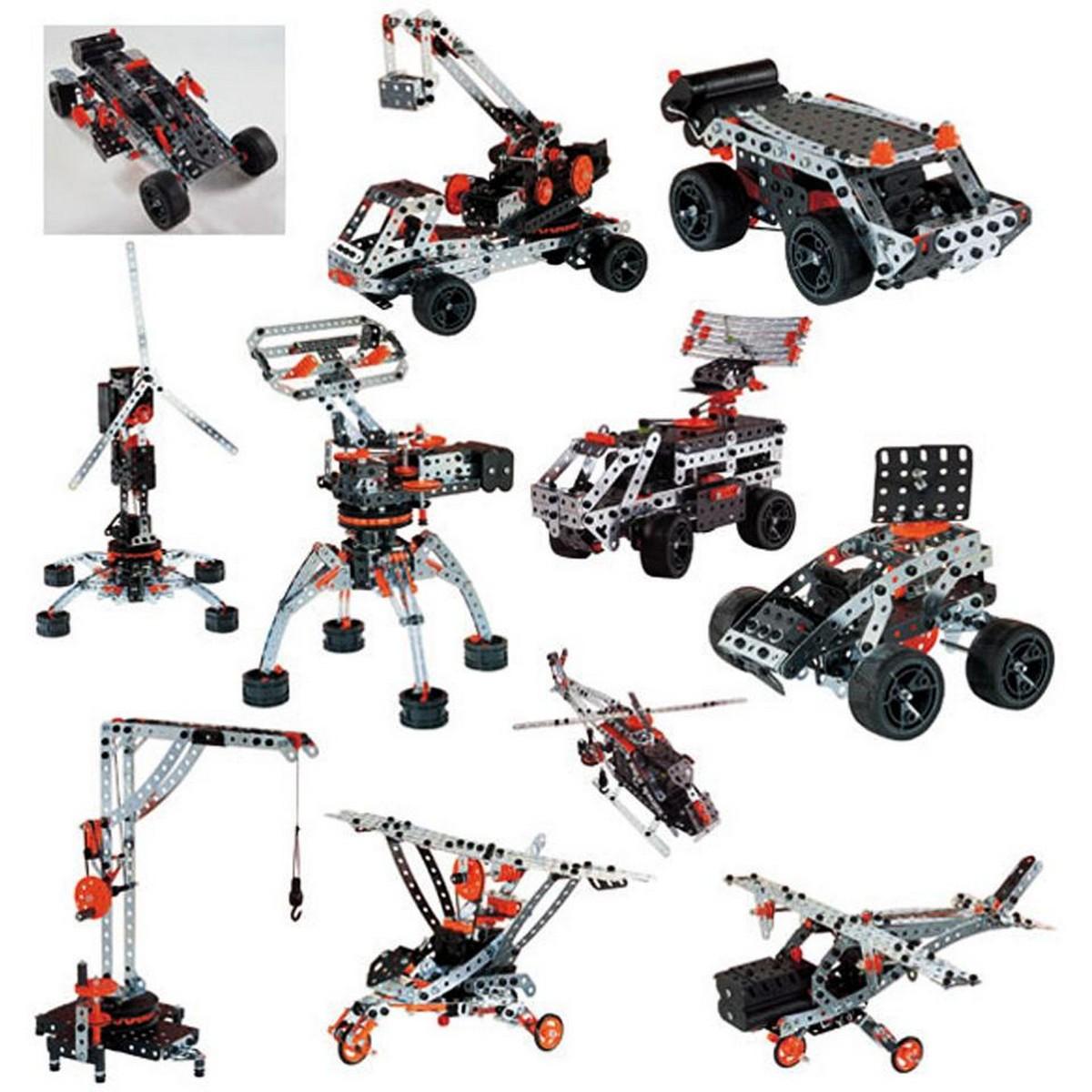 Mechanics Tool Vehicles Building Set (25 Models)
