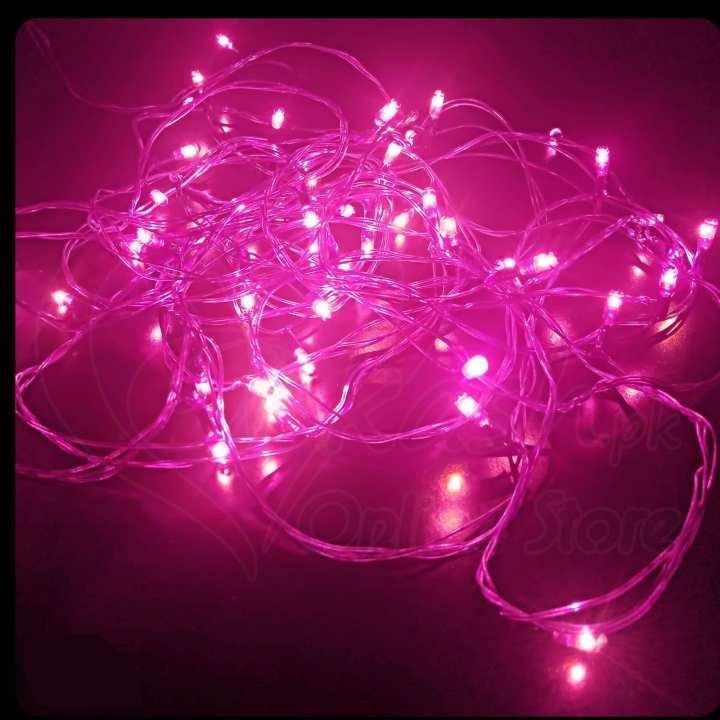20 Feet Still Fairy Light String - (220V) - Purple