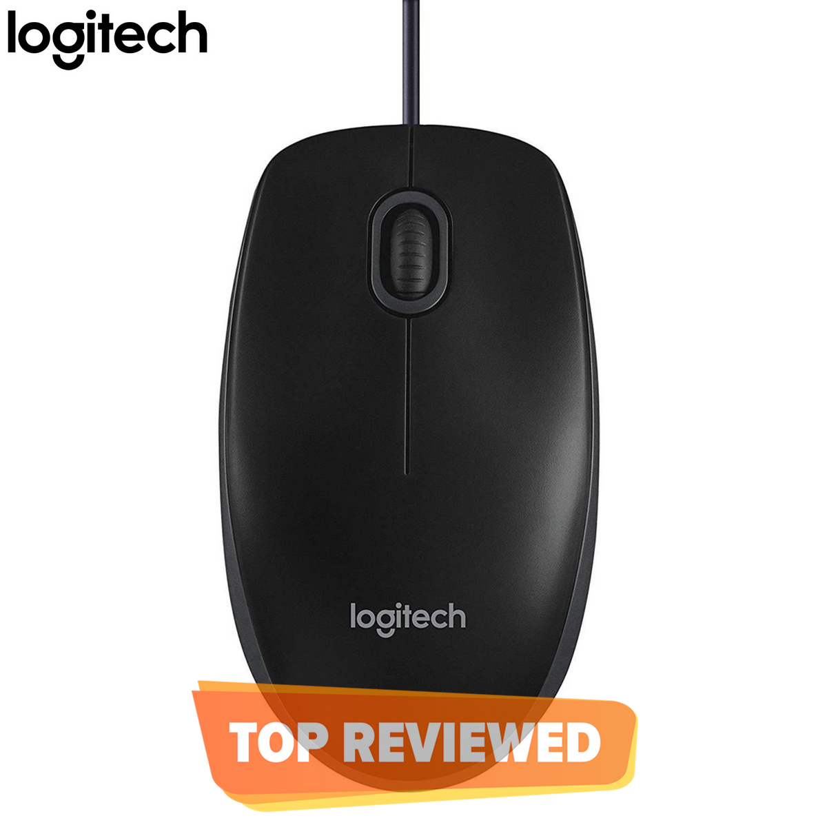Logitech B100 Optical USB Wired Mouse