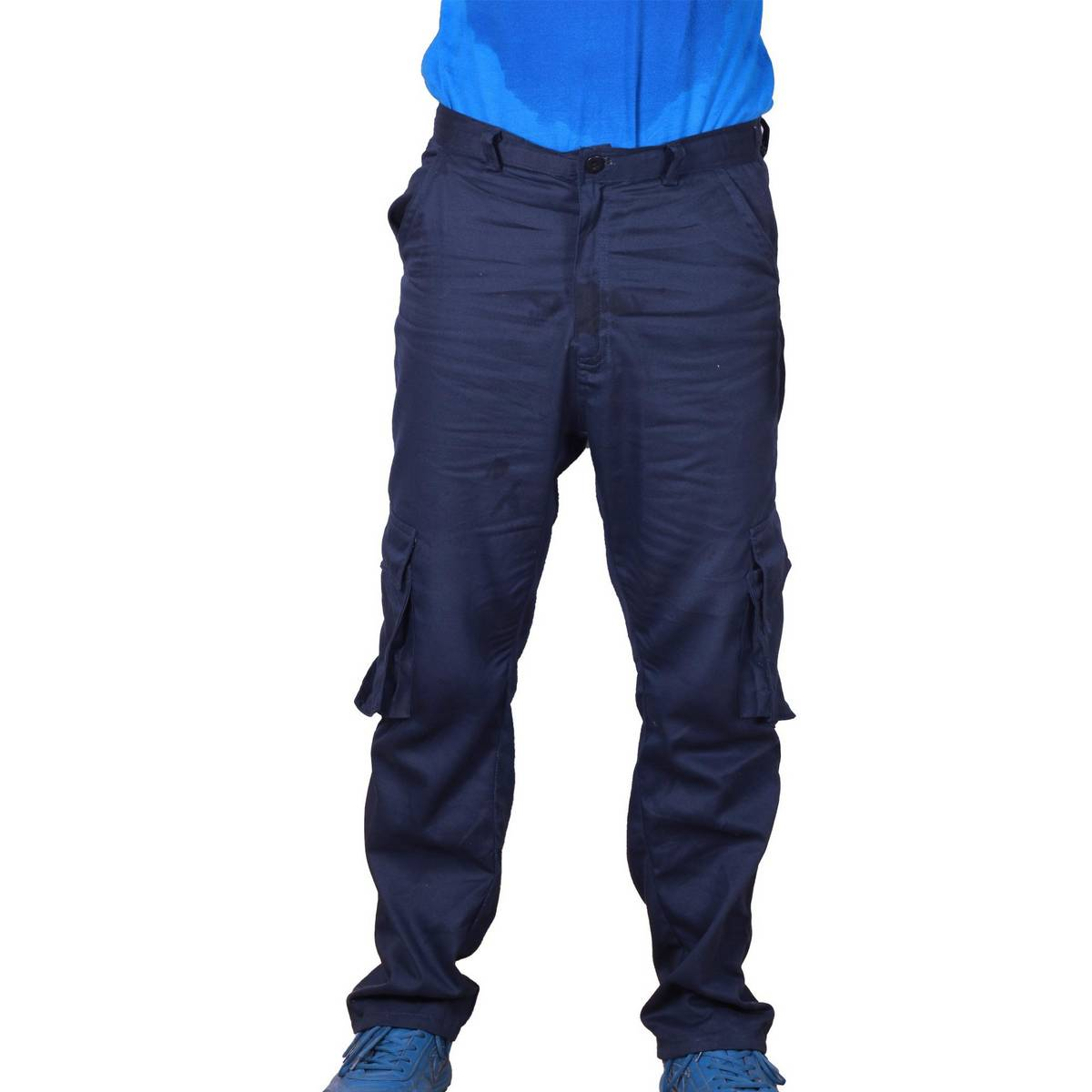 Men's New Fashion 6 Pockets Cargo Trousers - Cargo Pants