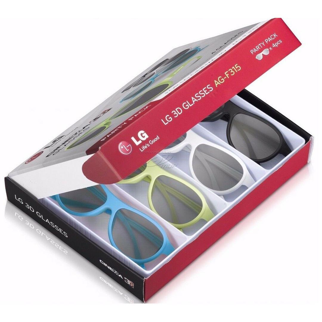 Life's Good Cinema 3D Glasses (AG-F315) for All Life's Good Cinema 3D TVs