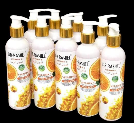 DR Rasheel Vitamin C Brightening Face Wash 225 ml FACIAL