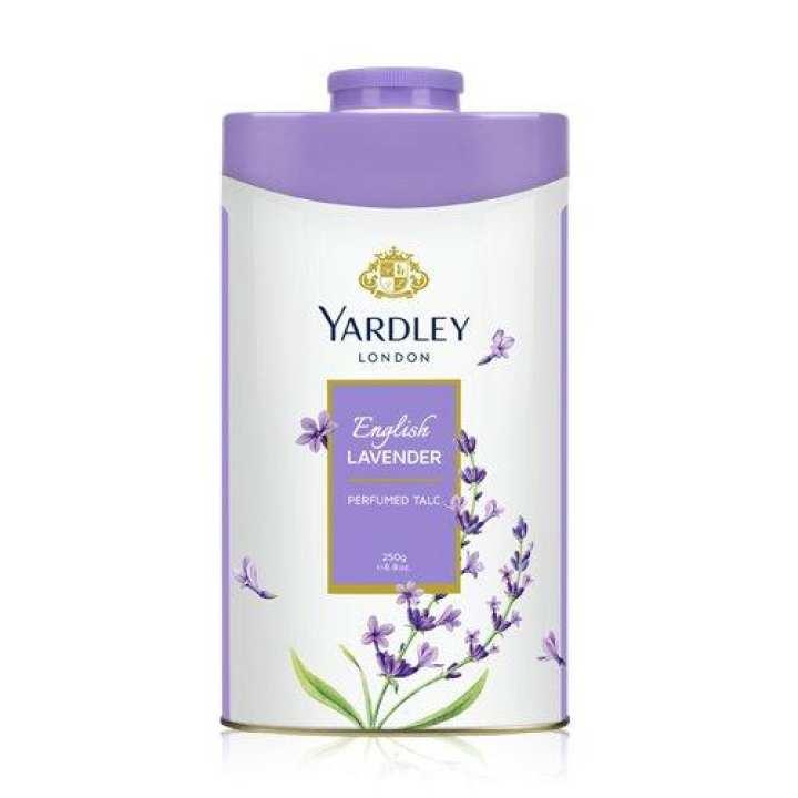 Yardley London Perfumed Talcum Powder 250G (English LAVENDER)