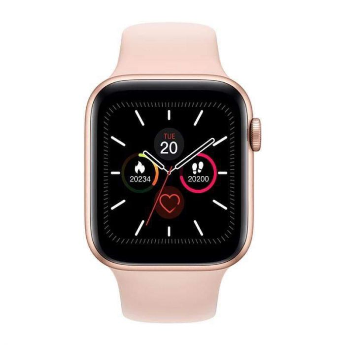 Pink Advanced Version Bluetooth Digital Wrist Sports Smart Watch IP67 Waterproof Bracelet Support Mobile Notification With Mobile App Connectivity Fitness Tracker & BP Monitor Step Counter 1.54 Inch TFT Screen With Digital & Smart Display