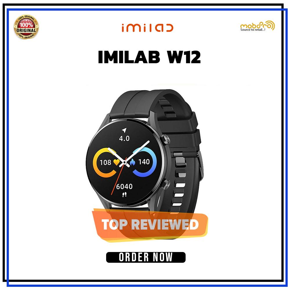 Xiaomi Imilab W12 Smart Watch Black
