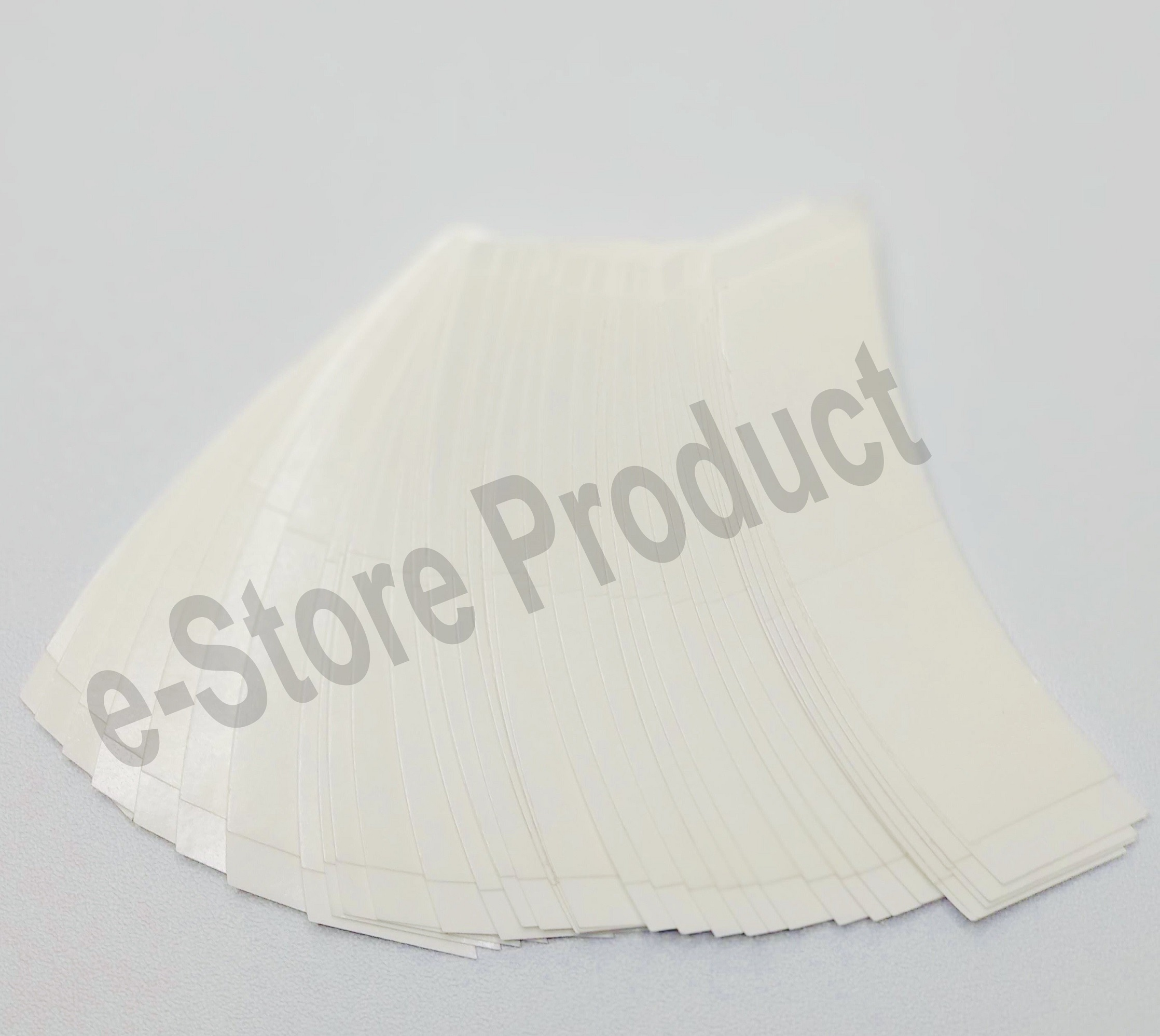 8 x Front Lace Original USA made ULTRA HOLD Waterproof (3 inch) Strips for Hair Wig Unit - Very Strong Hold (5-7 Days) Double-sided Adhesive Tape