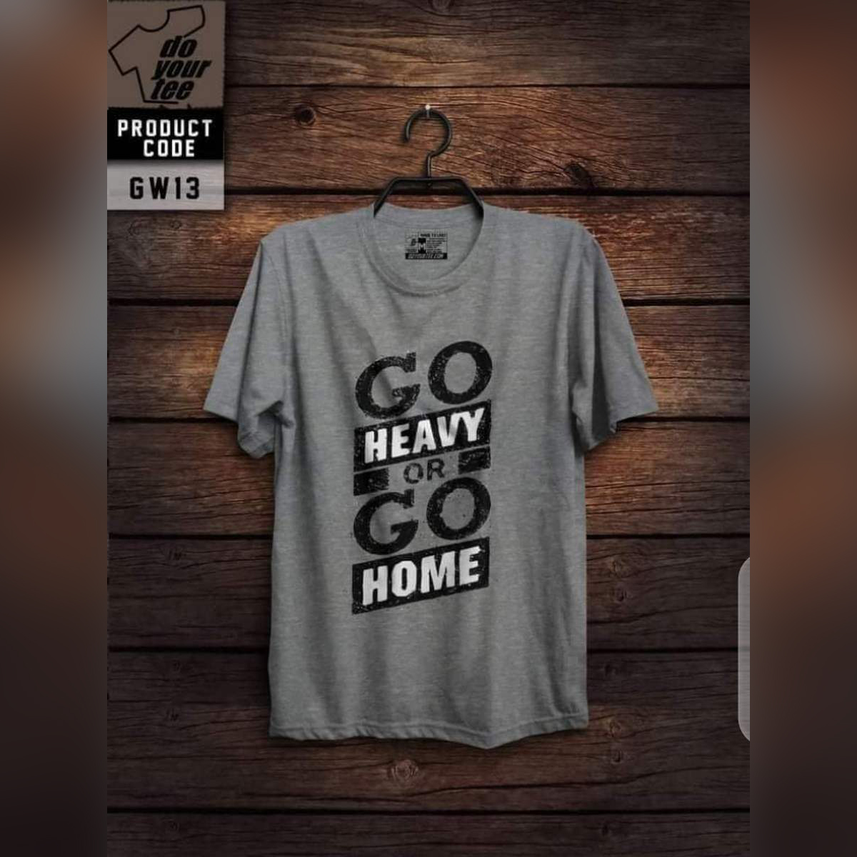 High quality imported vintage gym printed t shirt for men