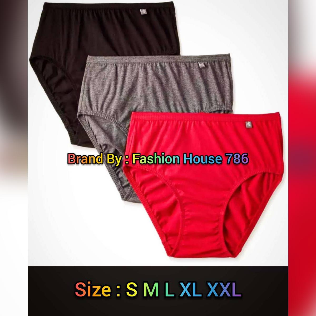 PACK OF 02 : Ladies Underwears Girls Underwears Panties