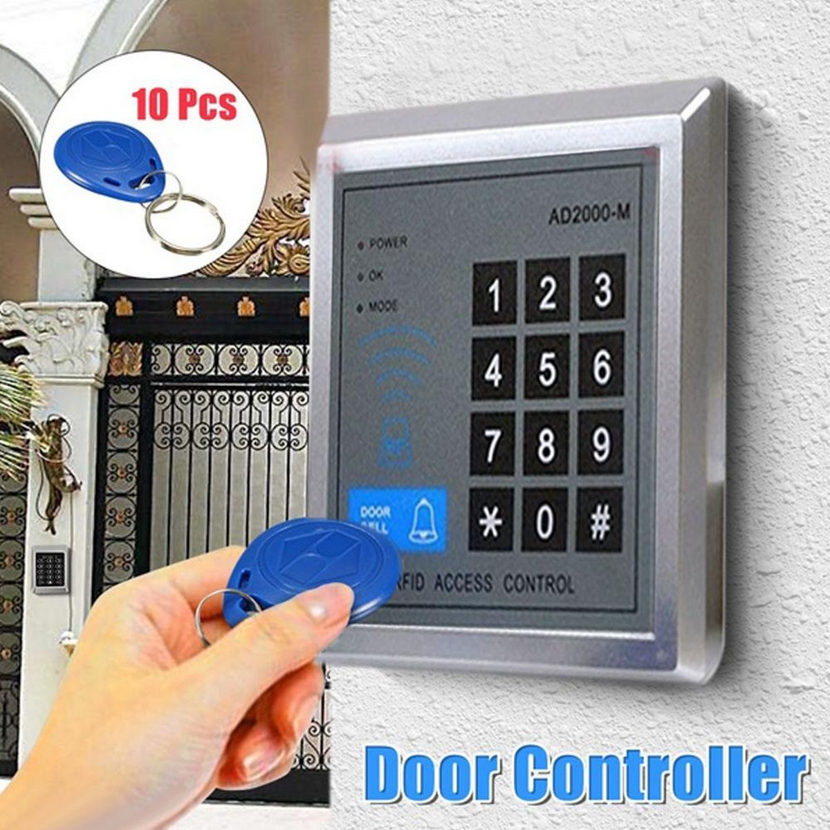 Pin Code Electronic Door Access Control Keypad Device