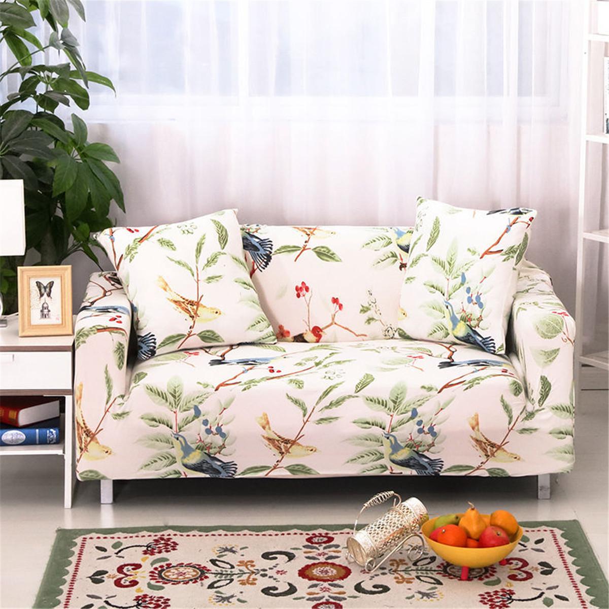 Brilliant Bird Furniture Protector Loveseat Stretch Elastic Slipcover Sofa Couch Cover Spiritservingveterans Wood Chair Design Ideas Spiritservingveteransorg