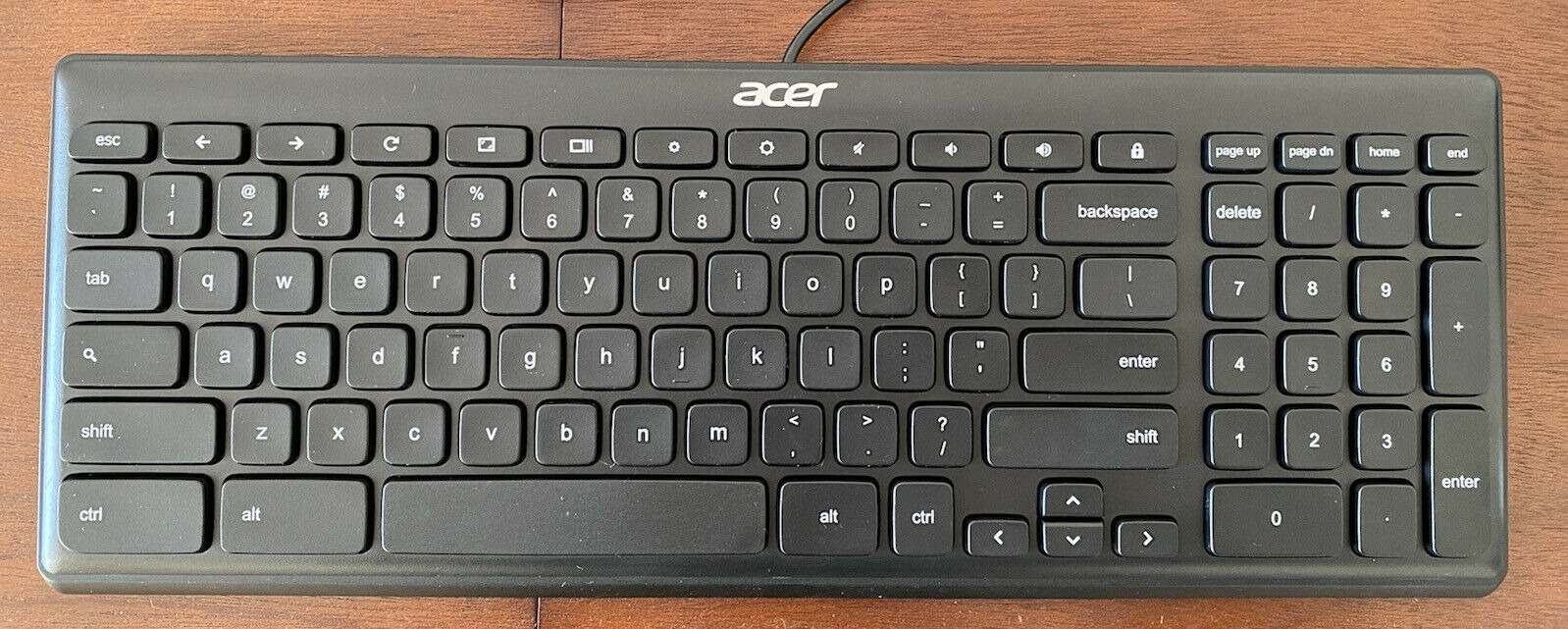keyboard ACER KB69211 100% Geniune Stock usb wired slim and smart size