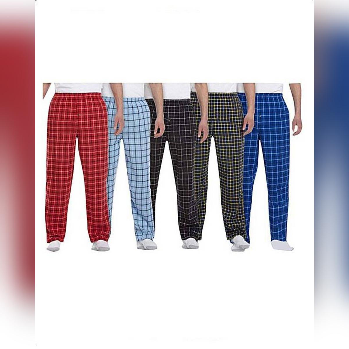 Pack Of 5 - Check Trouser For Men