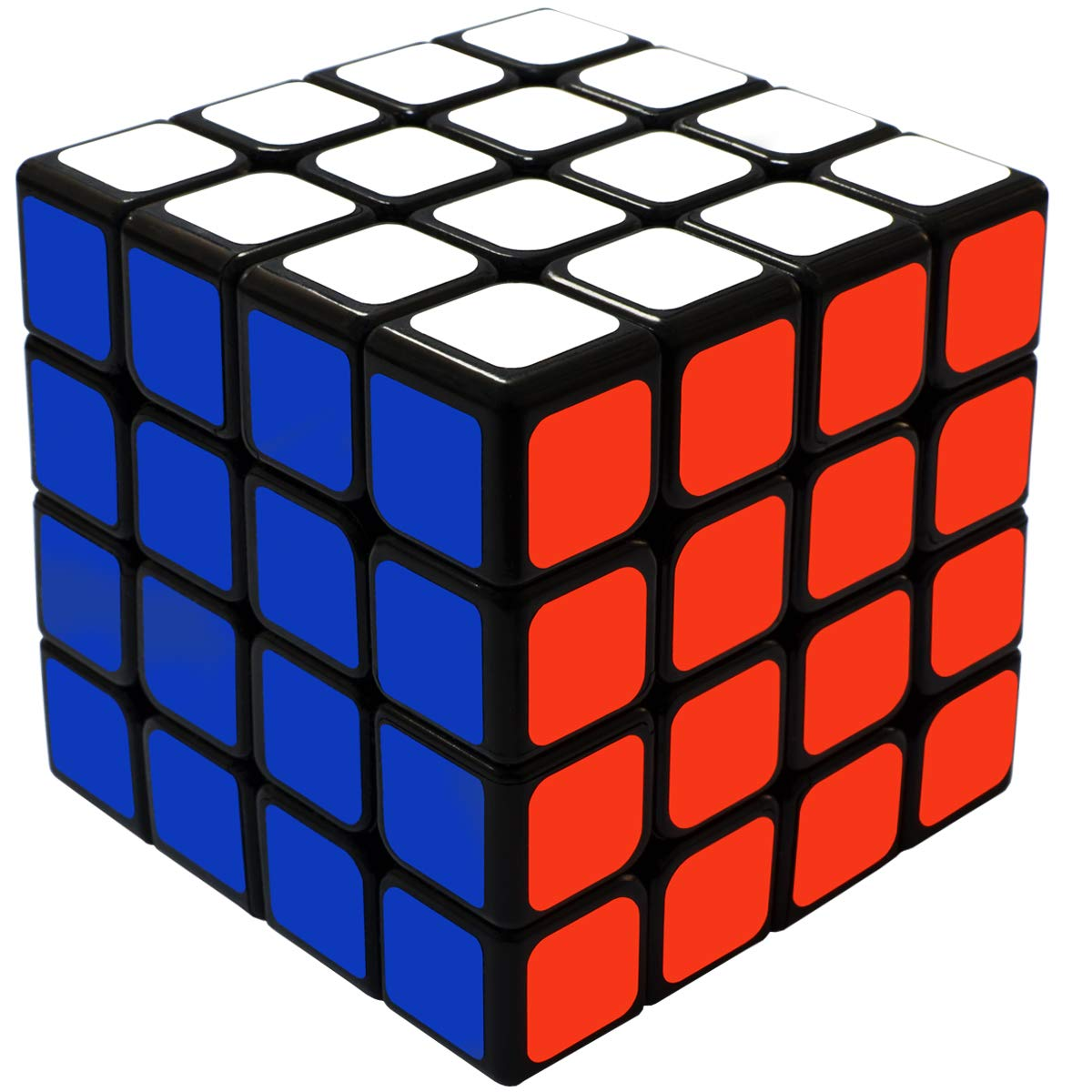 Rubik's Cube 4x4 Sticker Best Quality Fast Speed Magic Cube Smooth Educational Puzzle Toys