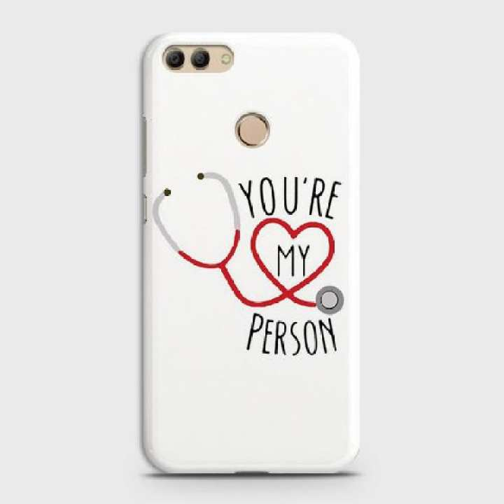 Huawei Y9 - 2018 Cover You are My Person Hard Cover- Design 19 Case