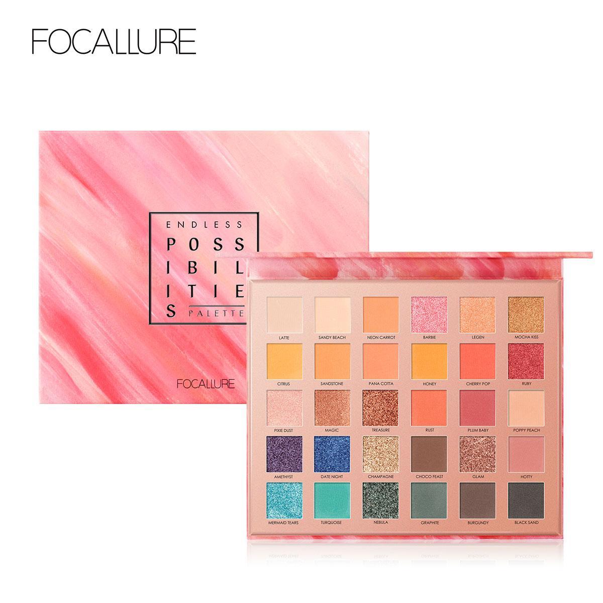 Focallure 30-Color Eye-shadow Palette