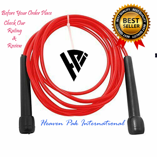Jumping Rope  Skipping Rope  jump Rope fitnessGyM (Nylon) for Adults (9ft) skipping rope for Gilrs,Men,kids