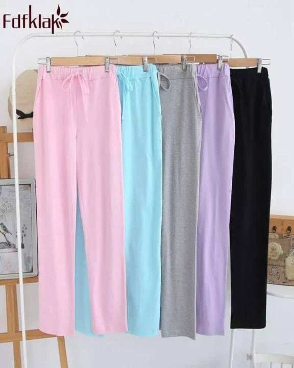 Rex Bazar - Pack of 5 Plain Trousers For women