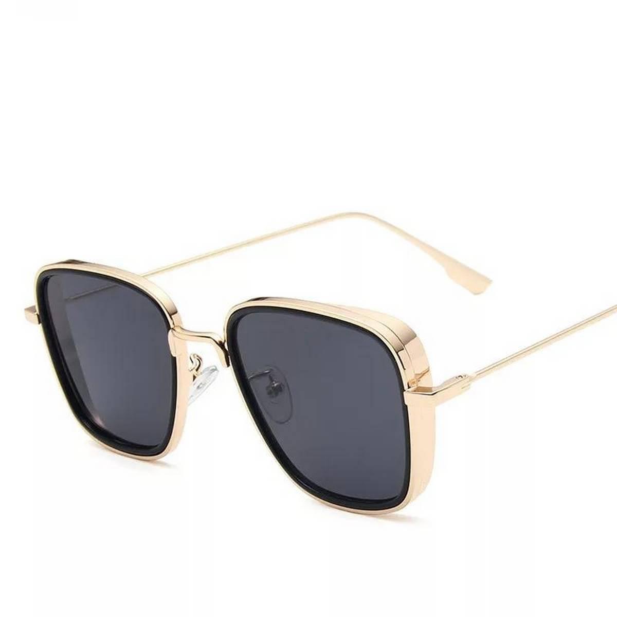 New Kabir Singh India Movie Sunglasses Men Square Retro Cool Sun Shades Steampunk Style Sun Glasses for Men