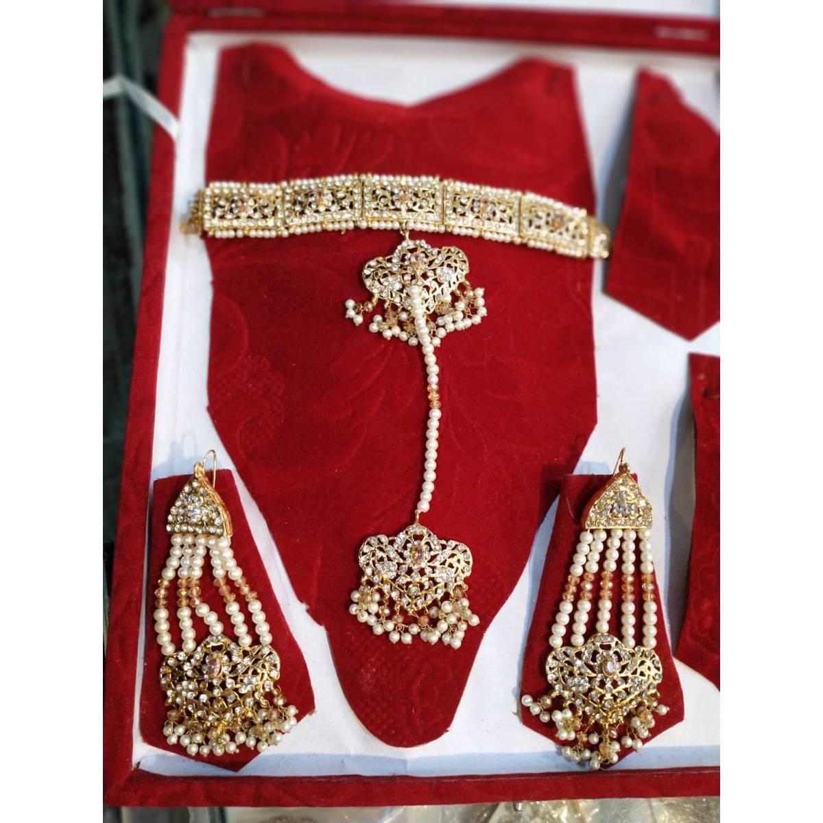 Girls New style Fancy Jewellery Set