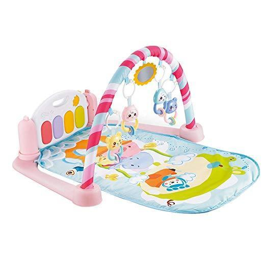 Baby Piano Fitness Mat Newborn Educational Toy with Light / Sound Effect  Gift for Kids