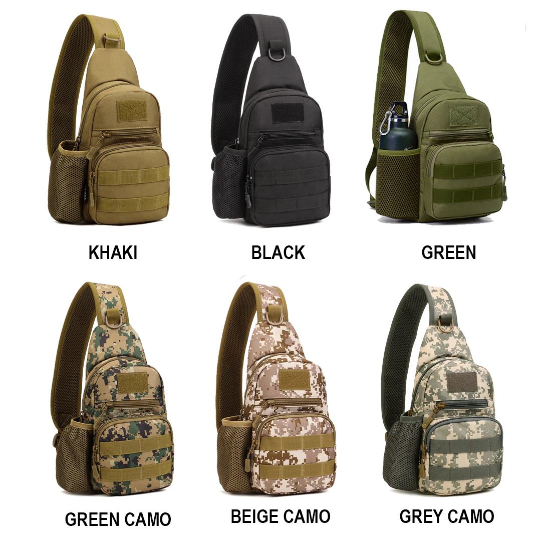 Canvas Cross Body Shoulder Sling Bag  Backpack For Travelling