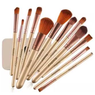 High Quality 12 PCs Makeup Brushes Box