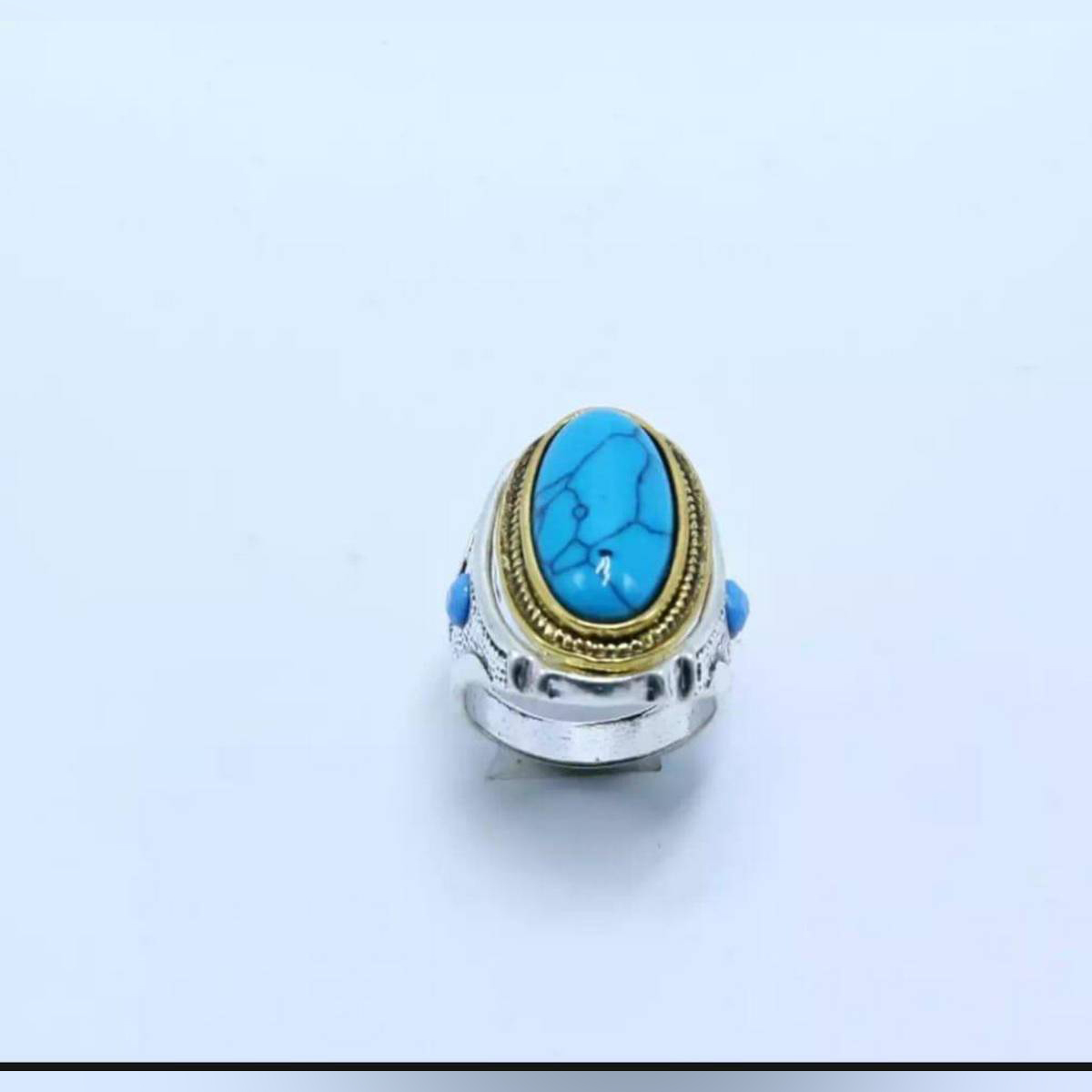 Feroza Latest Turkish Punk Rock Style beautiful Ring antique for men women boys top rated trend 2019