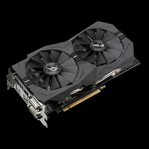 ROG Strix RX570 Gaming OC Edition 4GB GDDR5 with ASUS Aura Sync