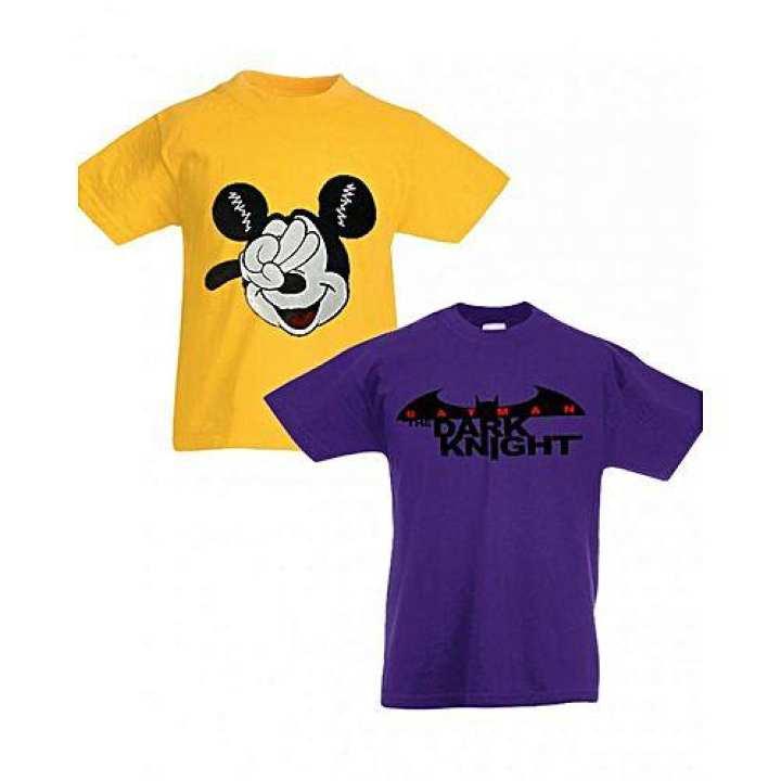 Shazi Kids Pack of 2 Printed T Shirts