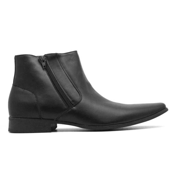 Men's CK Beck Leather Boot Black