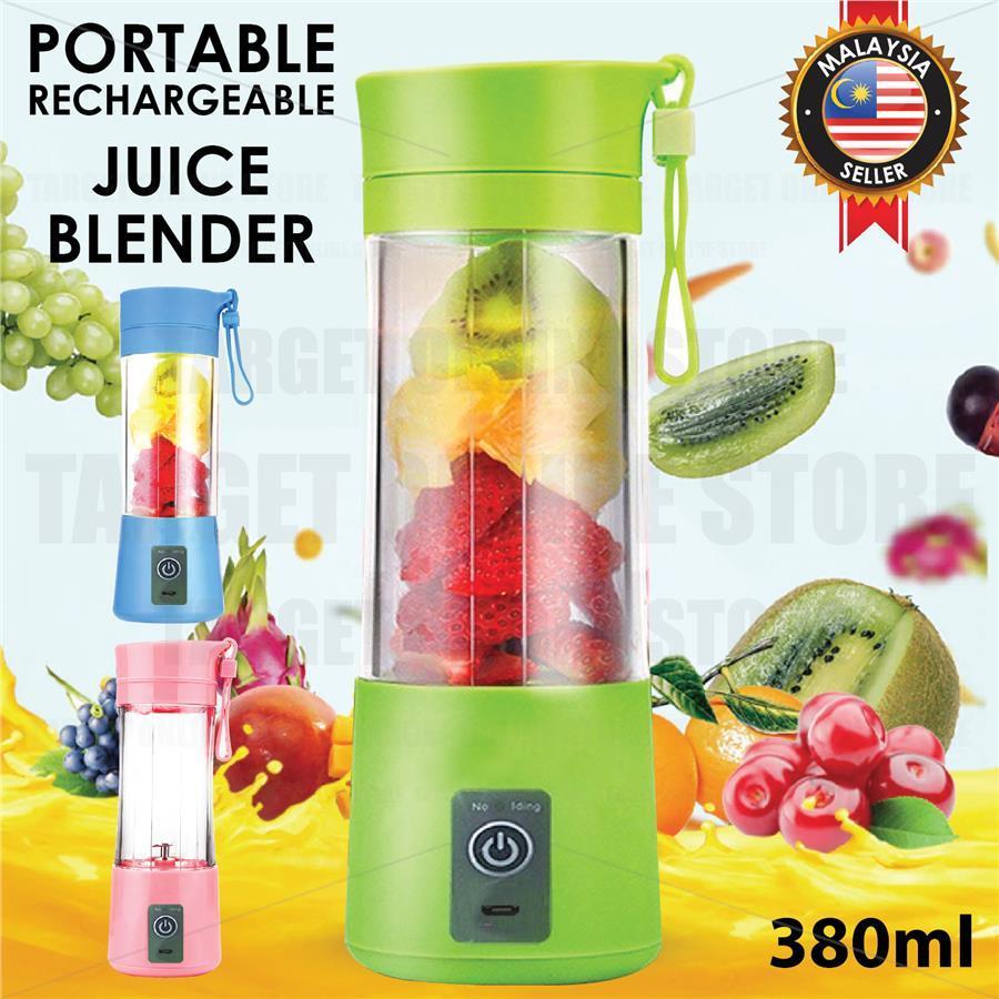 Portable USB Electric Fruit Juicer Bottle Smoothie Maker Blender Shaker Machine