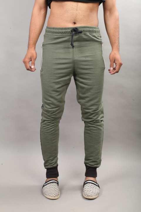 Gray Cotton Trouser For Men