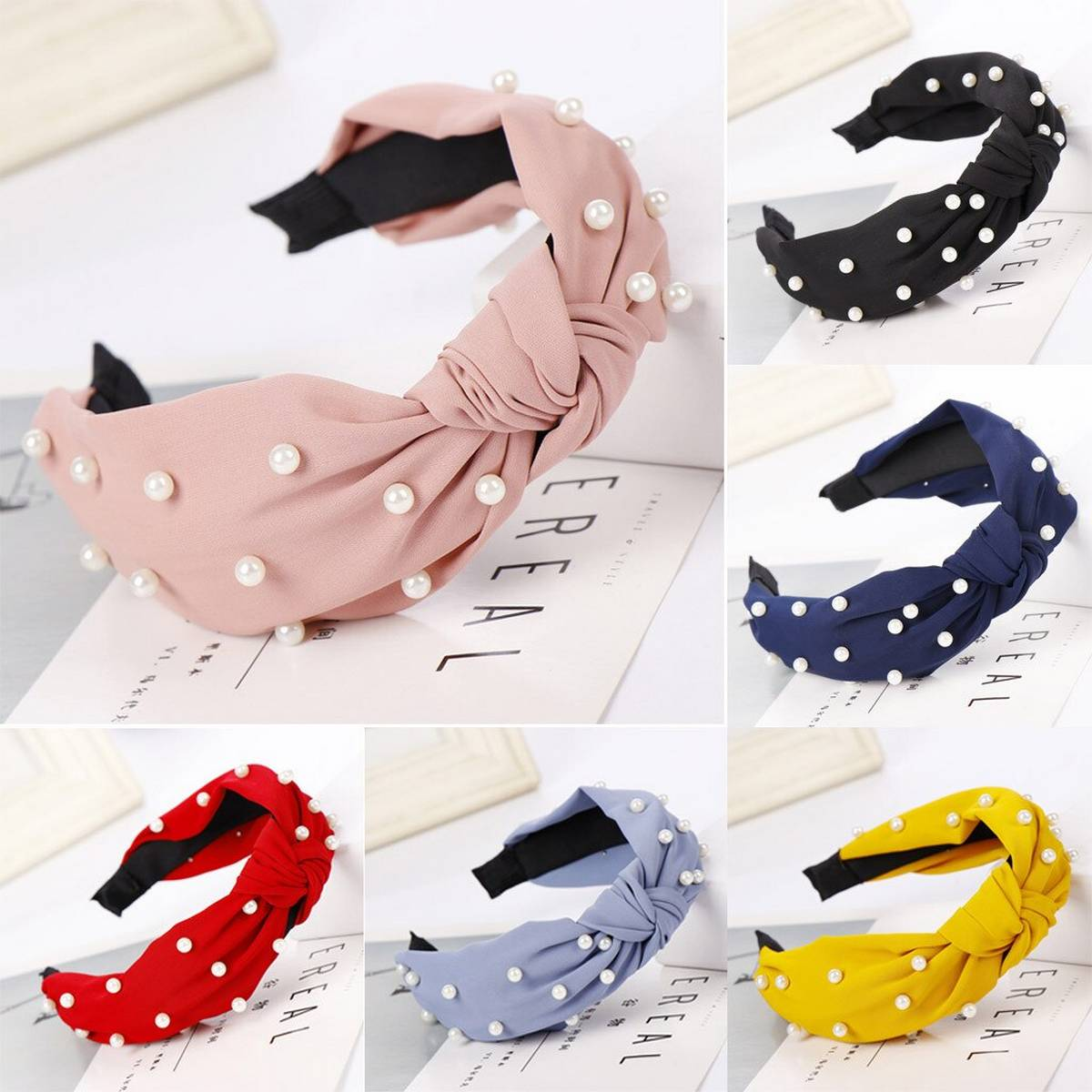 Top Quality Stylish Pearl Hair Bands Headband For Girls & Women
