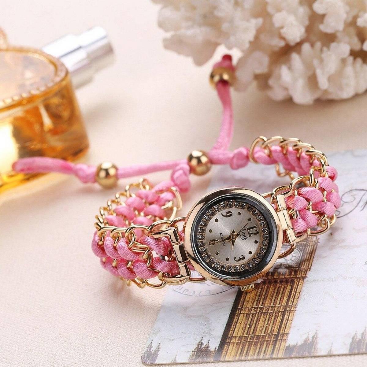 Handmade Paris Bracelet Watch For Wommen&girls