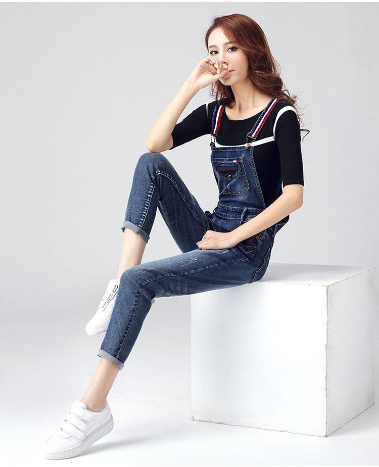 75acebba865b Denim Rompers with tommy helifiger straps for women DR-002