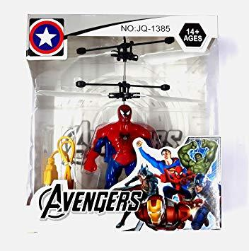 Spiderman Flying Hero with Hand Sensor Control helicopter