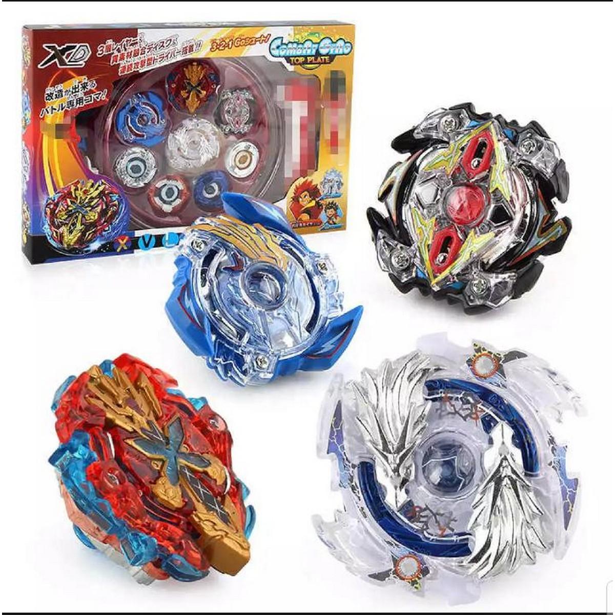 4pcs/set Beyblade Metal Fusion Beyblades