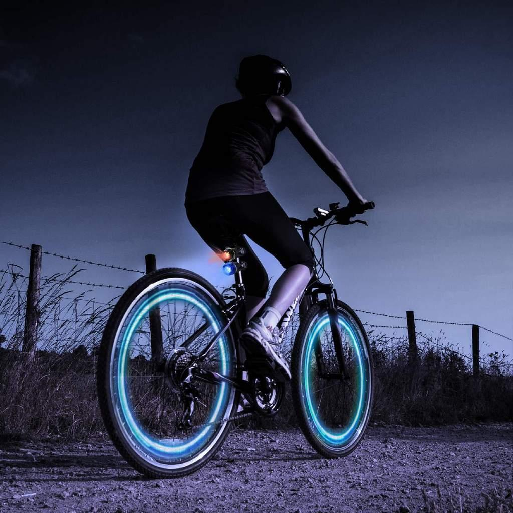 Pack of 2 - Cycle Car Bike Motion Sensor LED Battery Operated