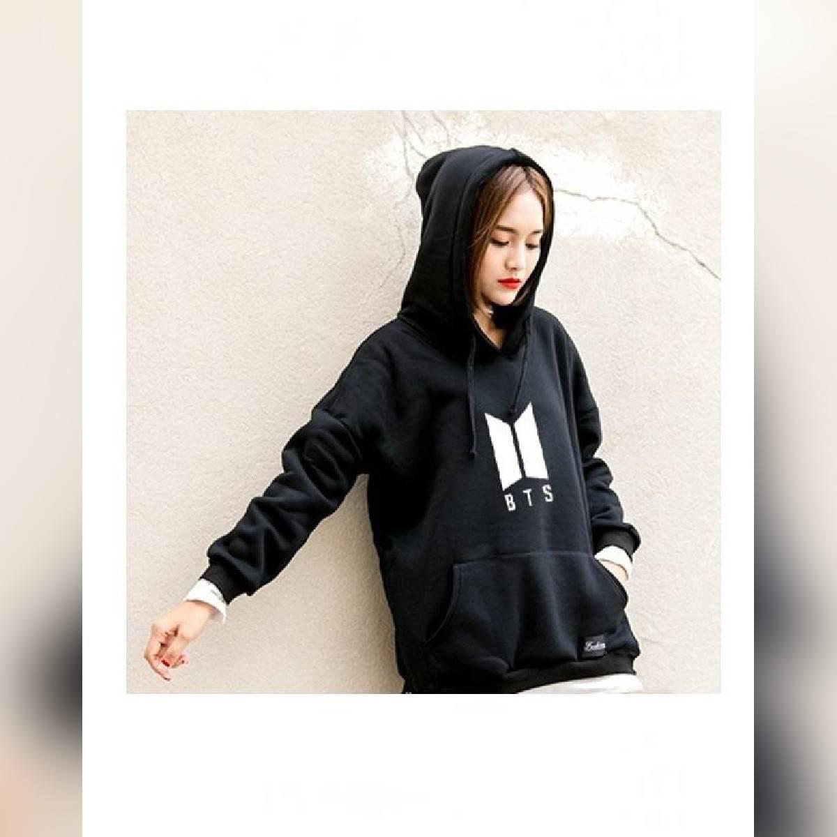 Black Fleece BTS Hoodies For Women