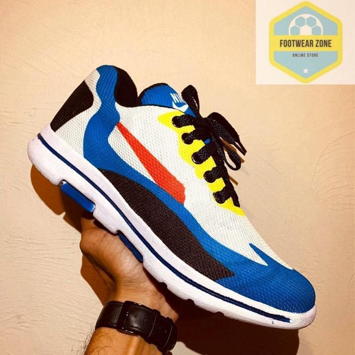Trendy Blue Sneaker