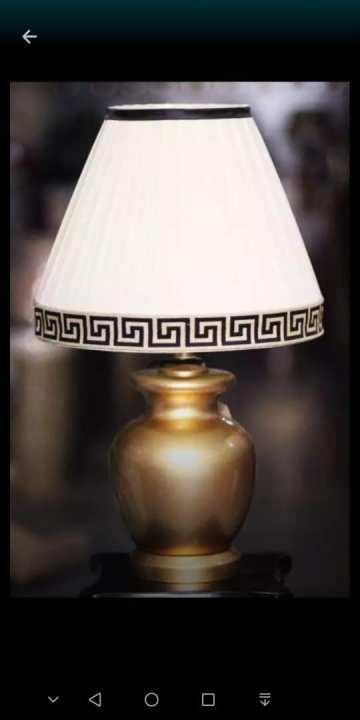 CERAMIC TABLE LAMP PAIR