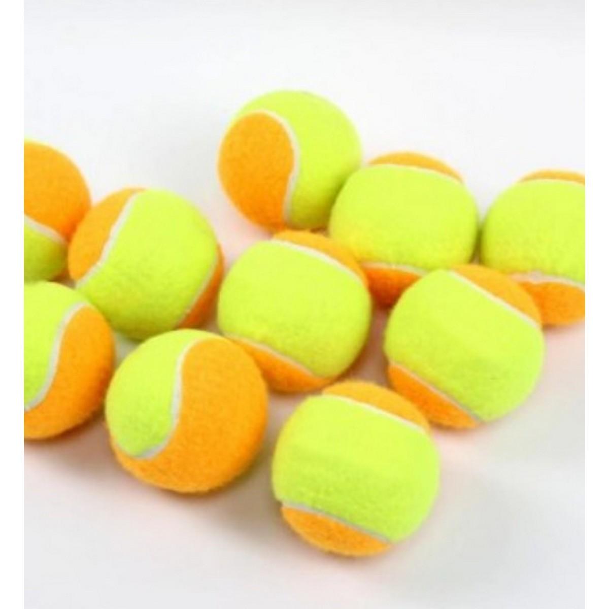 Pc of 12 / Tennis Ball Polyester Orange Training Balls ball