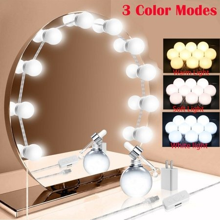 LED Mirror Lights Make Up Vanity Mirror Light with 10 Light for Makeup Dressing Table