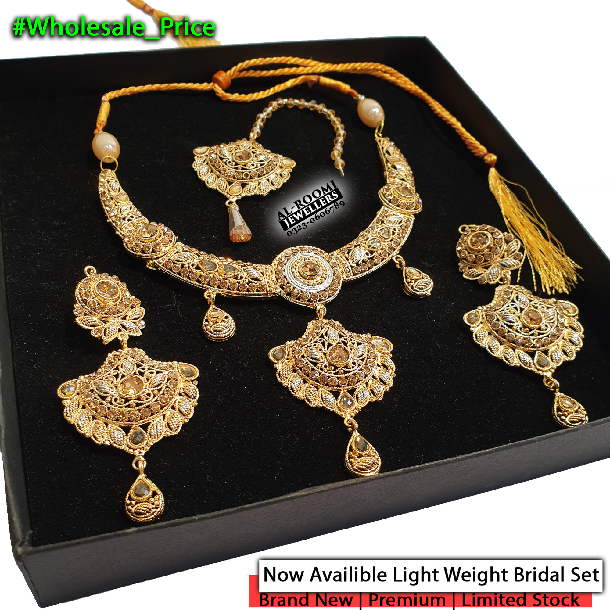 Original Choker Bridal Complete Set Within Wholesale Price for Girls and Women