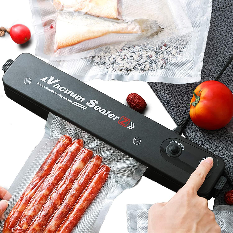 Vacuum Sealer Hand Machine Automatic Food Sealer for Food Saver 10 Vacuum Bags Kitchen Tools Set - ZKFK-001