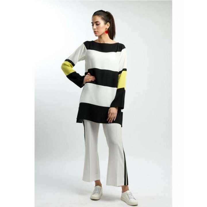 Lemon bar tunic for women  SFK-41