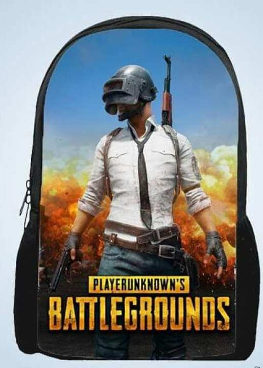 PUBG Battleground Printed Backpack