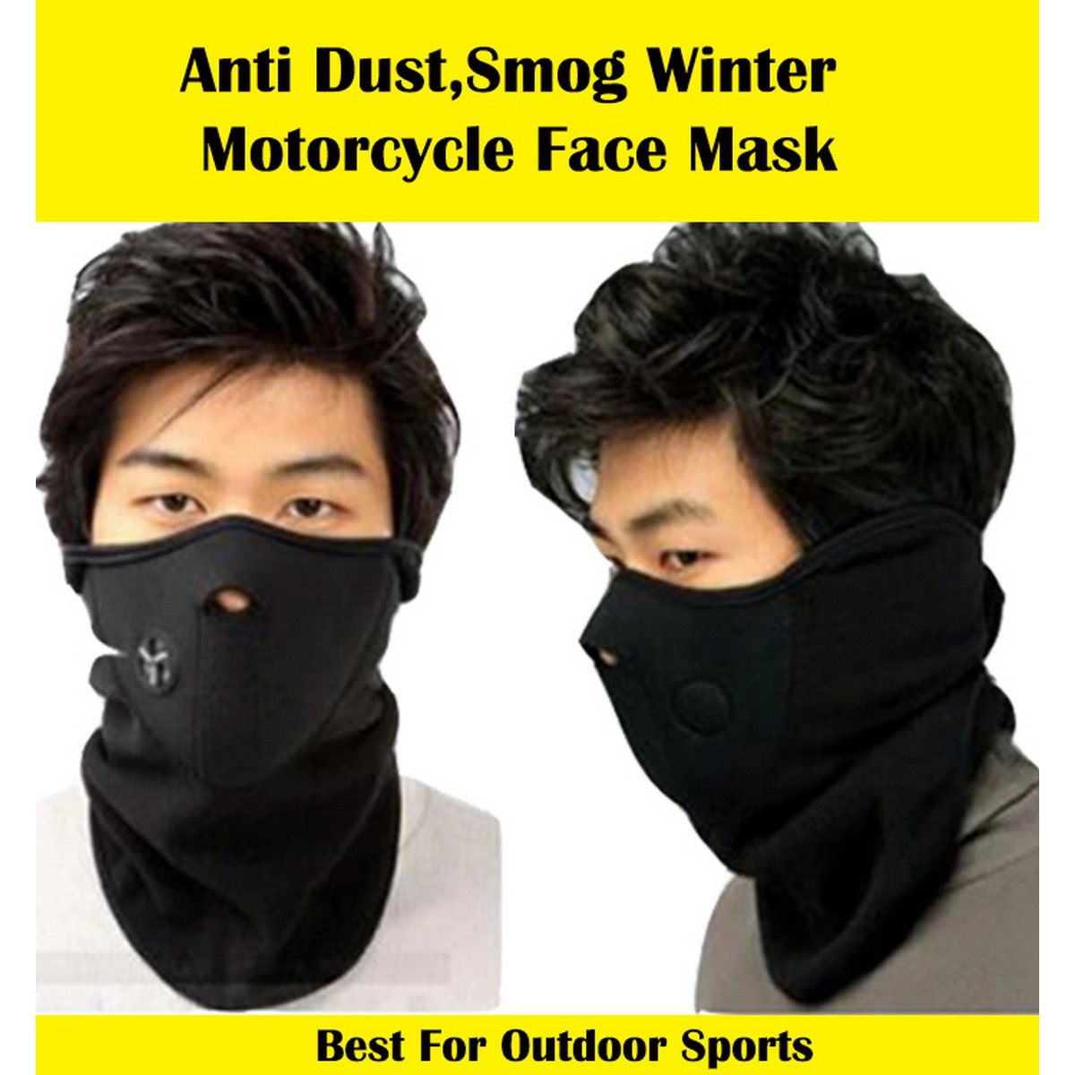 Motorcycle Winter Face Mask Thermal Neck Protection Guard  Warmer Unisex Face Cover for Bike ,Bicycle,Skiing,Running,Hiking,Mountain Climbing,Skateboard