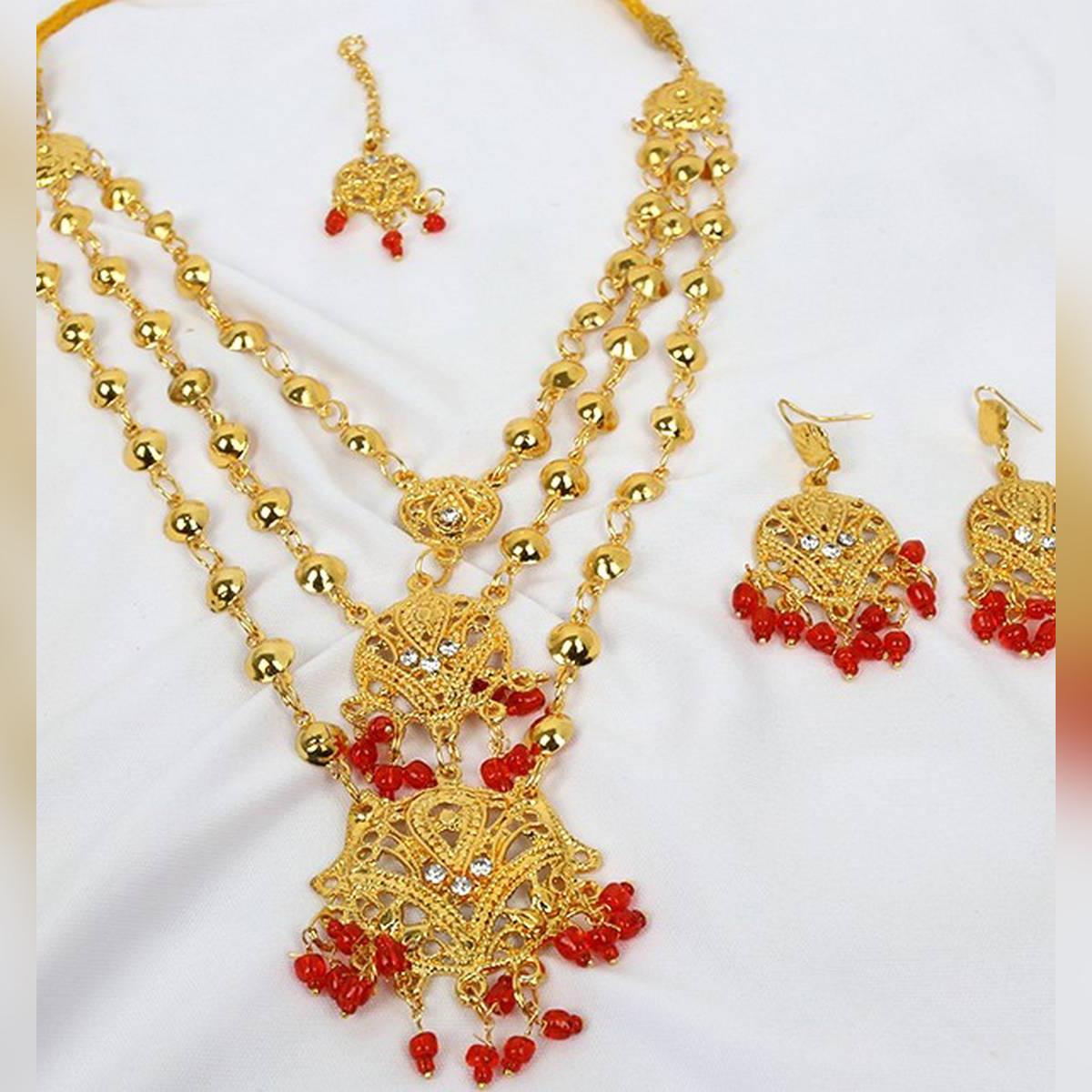 Artificial Bridal Jewelry Set - Jewellery Set for Girls / Women
