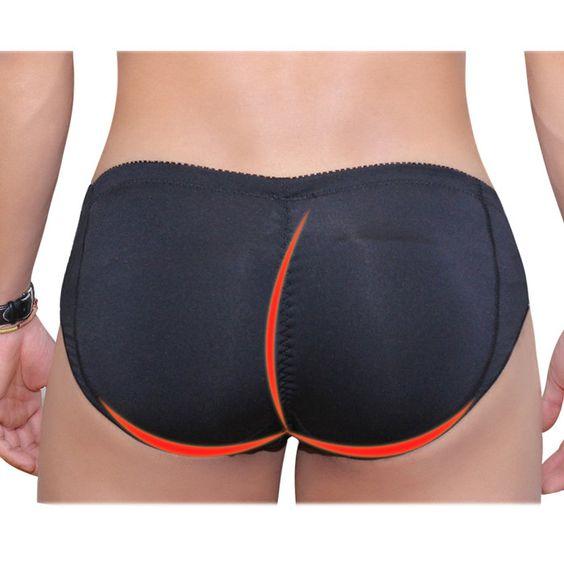 Men's Foam Padded Underwear Bum Hip Enhancing Underwear, Men's Butt Enhancer Briefs